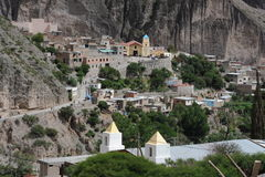 The indigenous village of Iruya. On the argentina andes Stock Image
