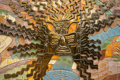 Indigenous wall decoration. In Ecuador Royalty Free Stock Photography