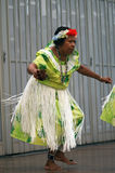Indigenous Woman Dancer Stock Image