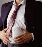 Indigestione Fotografia Stock