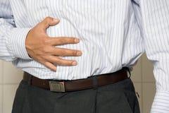 Indigestione Immagini Stock