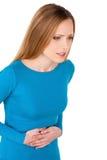 Indigestão. Fotografia de Stock