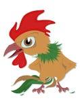Indignerad rooster Arkivfoton