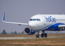 IndiGo Airlines-stock image Royalty Free Stock Image