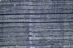 Indigo batik cloth Royalty Free Stock Photos