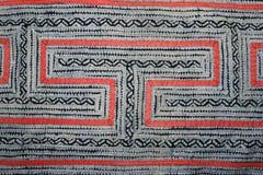Indigo batik cloth design Stock Image