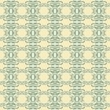 Indigo-Blau-Fliesen-Boden-Verzierungs-Sammlungs-herrliche nahtlose Patchwork-Muster-Weinlese-Illustration Lizenzfreie Stockfotografie
