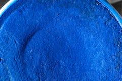 Indigo blue aqua make up. Stock Image