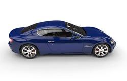 Indigo Blue Car Stock Images