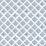 Indigo blue hand drawn seamless pattern Royalty Free Stock Image