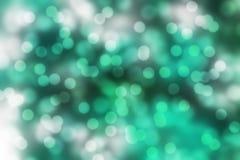Indigo bokeh achtergrond Samenvatting Vage Lichten Stock Foto