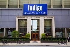 Indigo-Buchladen Lizenzfreies Stockfoto