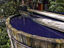 Indigo dye workshop Royalty Free Stock Photo