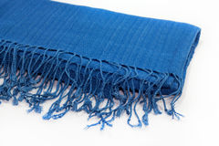Indigo dyed cloth Stock Photography