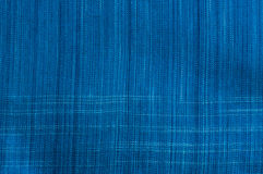 Indigo fabric. Thai indigo fabric, call morhom Royalty Free Stock Photos
