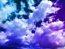 Indigo sky, photographed at Golden Gate, South Africa
