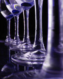Indigo Wine Royalty Free Stock Photo