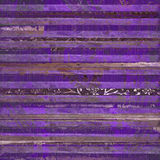 Indigo Wood And Metal Scroll Stripes Stock Image