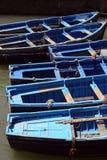indigoblå fartyg Arkivfoto