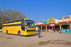 Indiian intercity bus Royalty Free Stock Photos