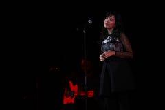 Indila konsert Arkivbilder