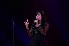 Indila konsert Royaltyfri Fotografi