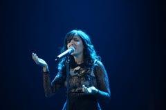 Indila konsert Royaltyfri Foto