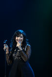 Indila konsert Royaltyfria Bilder