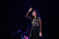 Indila konsert Arkivfoton