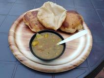 Indin chleb z spiced sausse goa zdjęcie royalty free