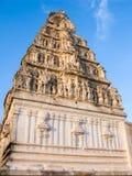 Indio del sur Gopuram Imagen de archivo libre de regalías