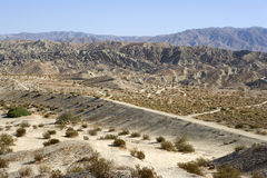 Indio Hills Royalty Free Stock Image