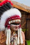 Indio norteamericano Imágenes de archivo libres de regalías