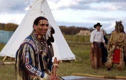 Indio norteamericano Imagenes de archivo