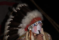 Indio norteamericano Fotografía de archivo