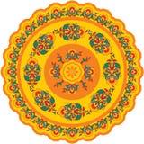 - Indio - rosetón oriental del modelo ilustración del vector