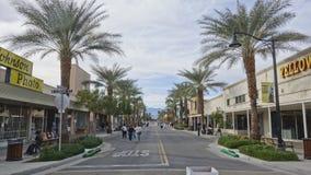 Indio van de binnenstad, Californië Stock Afbeeldingen