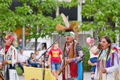Indios de la música étnica del juego de Suramérica Fotografía de archivo libre de regalías