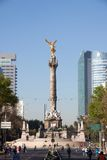 Indipendence Monument,  Mexico City Stock Photos