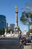 Indipendence Monument, Mexico city Stock Images