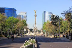 Indipendence monument, Mexico - stad Arkivfoto