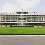 Indipendence-Palast, Ho Chi Minh, Vietnam Lizenzfreie Stockfotografie