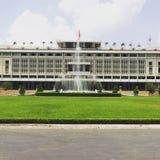 Indipendence slott, Ho Chi Minh, Vietnam Royaltyfri Fotografi