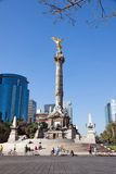 Indipendencemonument, Mexico-City Royalty-vrije Stock Foto's