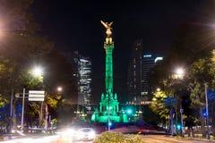 Indipendenza Angel Mexico City immagini stock