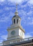 Indipendenza Corridoio, Filadelfia, commonwealth della Pensilvania fotografie stock