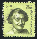 Indira Gandhi Stock Photos