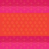 Indisch Bandhani-patroon stock illustratie