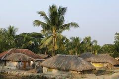 Indisch dorp Stock Afbeeldingen