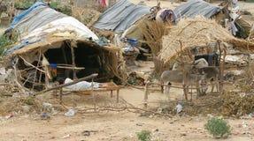 Indisch Dorp stock foto's